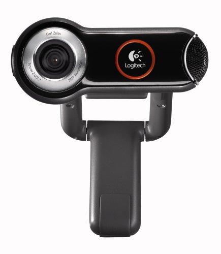 Logitech QuickCam Pro 9000 cámara Web 1600 x 1200 Pixeles USB Negro, Plata - Webcam (1600 x 1200 Pixeles, 30 pps, USB, Negro, Plata, 1,8 m, Pentium P4 1,4 GHz)