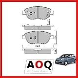 AOQ - PASTIGLIE FRENI ANTERIORI FIAT 500L 1.3 MULTIJET 1.4 0.9