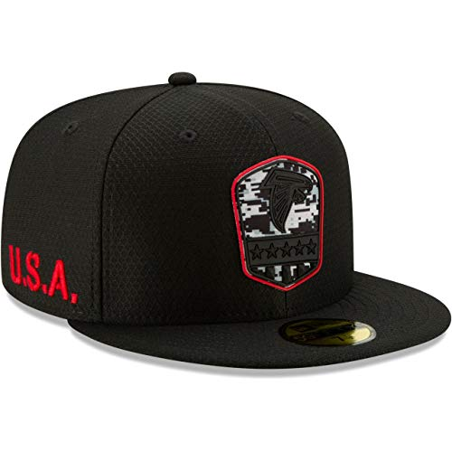 New Era 59Fifty Cap - Salute to Service Atlanta Falcons - 7