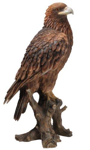 Vivid Arts Golden Eagle Resin Ornament