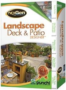 Brand New Encore - Punch! Landscape, Deck & Patio Designer With Nexgen V2 Sb (Works With: Win Xp,Vista,Win 7)