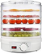 Countertop alimentaire électrique portatif déshydrateur machine à fruits avec thermostat réglable, sans bisphénol A 5-Plat...