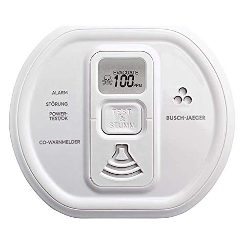 Busch-Jaeger CO-Alarm Melder 6839/01-84 Professional Stud/ws Kohlenmonoxidmelder 4011395277003