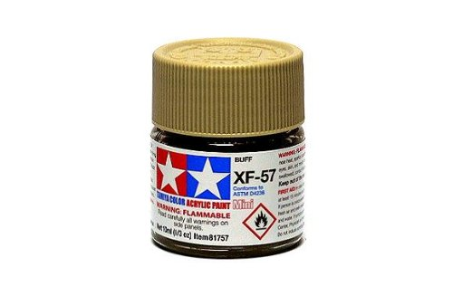 Tamiya Model Colour Acrylic Paint XF-57 Buff Net 10ml 81757 with RCECHO Full Version Apps Edition