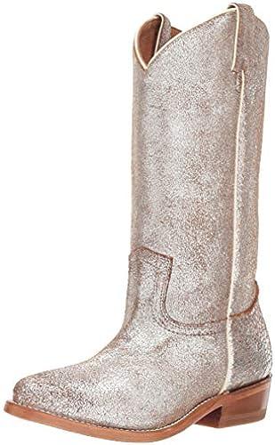 FRYE damen& 039;s Billy Pull On Western Stiefel, Silber Multi, 6 M US