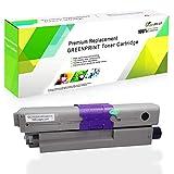 Cartucho de tóner Compatible C332 MC363 Negro GREENPRINT 3500 páginas para Negro para Impresoras láser a Color Oki OKIDATA C332dn MC363dn C332dnw MC363dnw