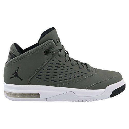 Nike Unisex-Kinder Jordan Flight Origin 4 (GS) Sneaker Grau 39