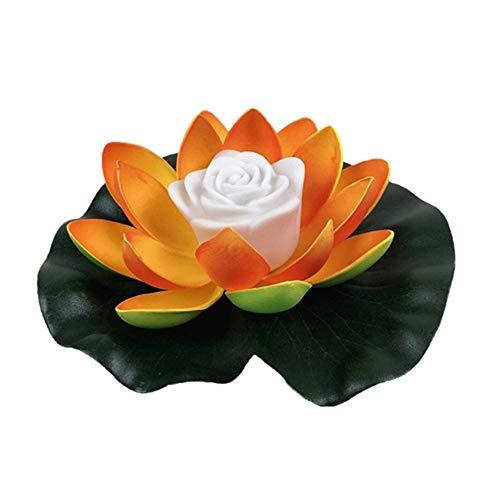 Schwimmender Solarteich Lotus Lights Schwimmende Lotus Solar Lampe Led Farbwechsel Nachtlicht Wasserdichte Beleuchtung Für Schwimmbecken Oder Gartenteich Dekoration