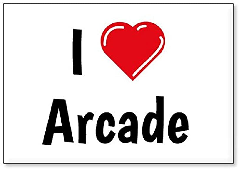 I Love Arcade, fridge magnet (design 3)