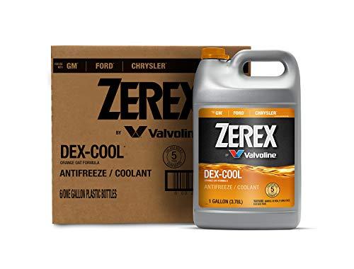 Zerex DEX-COOL Organic Acid Technology Antifreeze/Coolant 1 GA, Case of 6