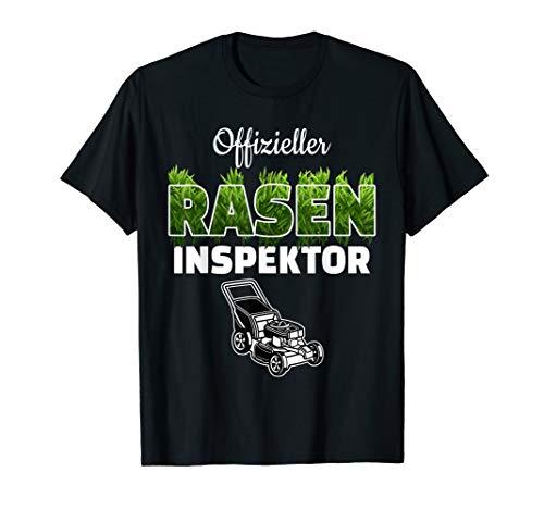 Offizieller Rasen Inspektor für Gärtner Hobbygärtner tshirt T-Shirt