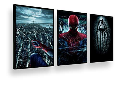 Quadro Decorati Coleção The Amazing Spider Man 2 Retro