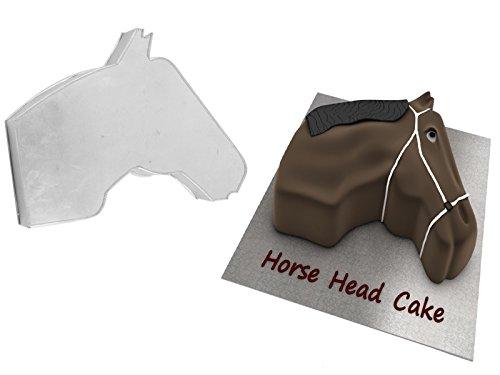 EUROTINS Neuheit Geformte professionelle Kuchenbackform/Zinn (Horse Face)