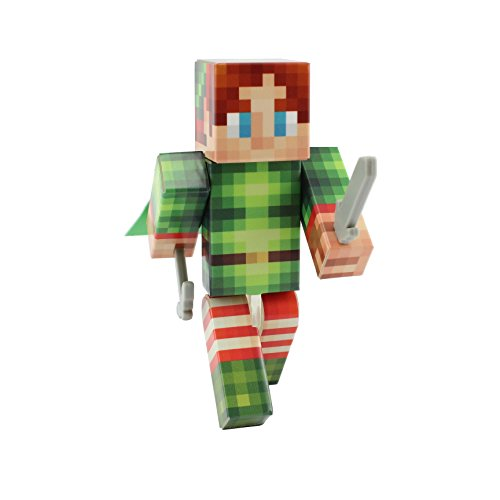 EnderToys Elf Action Figure Toy, 4 Inch Custom Series Figurines