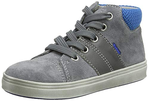 Richter kinderschoenen jongens Adventure Derbys, grijs (ash/pebble/atlas 6301), 21 EU