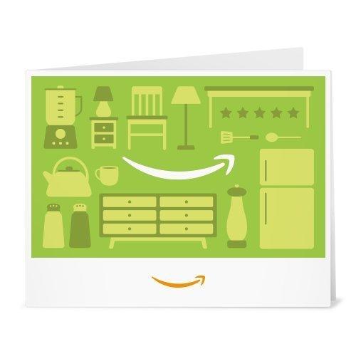 Amazon.de Gutschein zum Drucken (Einrichtung (hellgrün))