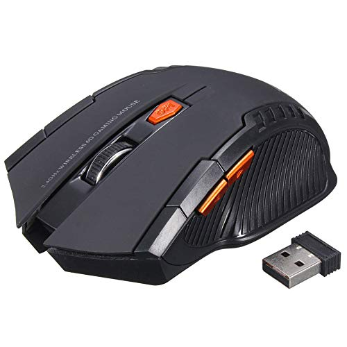 Einsgut Gaming Maus Kabellos 2,4 GHz Wireless Optical Mouse Gaming Drahtlose Mäuse Für PC Gaming Laptops
