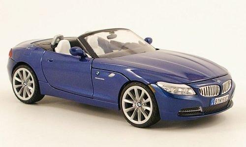 Unbekannt BMW Z4 Roadster, met.-blau, Modellauto, Fertigmodell, Mondo Motors 1:24