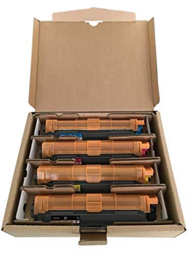 Original Brother Toner Set (TN-242BK TN-242C TN-242M TN-242Y) für Brother DCP-9017CDW 9022CDW HL-3152CDW 3172CDW 3142CW MFC-9142CDN 9332CDW 9342CDW