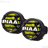 PIAA 22-05370 LP530 Yellow 3.5' LED Ion Fog Light Kit (SAE Compliant)