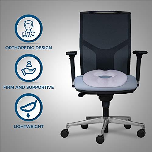 Dr. Flink Donut Pillow Seat Cushion