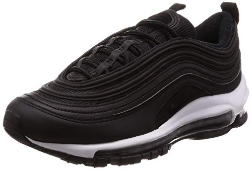 Nike Womens Air Max 97 Textile Black Trainers 8 US