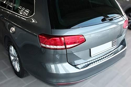Recambo CT-LKS-2410 LADEKANTENSCHUTZ Edelstahl POLIERT für VW Passat B8 Variant + ALLTRACK ab 2014, Large