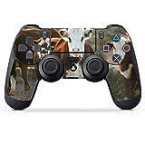 DeinDesign Skin kompatibel mit Sony Playstation 4 PS4 Controller Folie Sticker Kuh Kalb Landwirtschaft