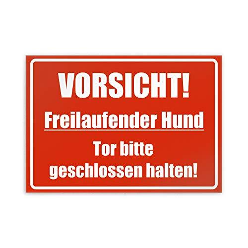 Kiwistar Tor Jaune avec Inscription en Allemand Bitte Geschlossen !