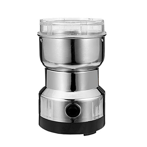 JDH Electric Coffee Spice Grinder Maker,with Stainless Steel Blades Grinding Supplies,100g Electric Grain Mill Powder for Home Kitchen Cafe,120W Electric Mills