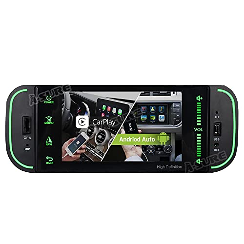 A-Sure Android 10 Carplay Android Auto 2GB+32GB Bluetooth5.0 Rohm-DSP Dual-Tuner-Radio Car Stereo GPS Navigation for Grand Cherokee Wrangler Liberty Durango Dodge RAM 300M Chrysler Sebring PT Cruiser
