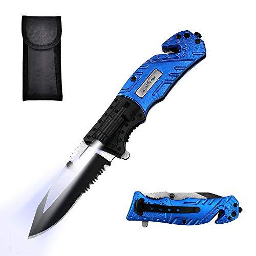ALBATROSS 5-in-1 Dispatcher Tactical Knife with Glass Breaker