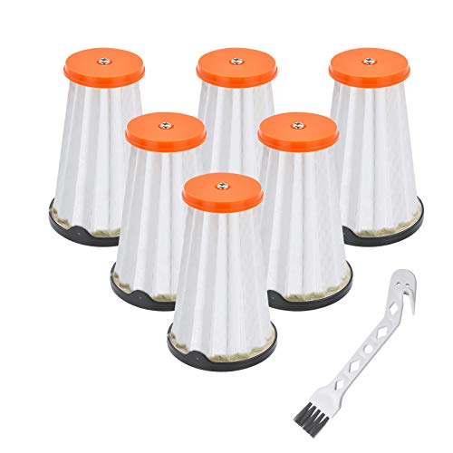 JoaSinc Filtres CX7 pour Aspirateurs AEG/Electrolux Rapido et Ergorapido, Filtres de Rechange pour AEG AEF144, pour tous les Modèles CX7-1, Lot de 6