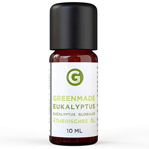 Eukalyptus Öl - 100{3eb36e99c09ebe1b94d59e199812325f86ab9ae4f38602a8a60c6fce343c3b35} naturreines, ätherisches Öl - Eukalyptus Globulus (10ml) von greenstyle