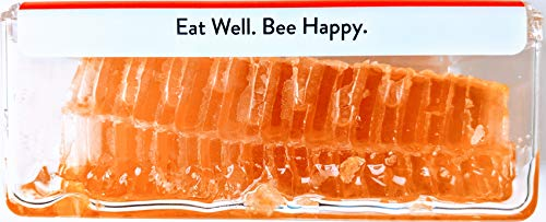 Homestead Raw Honeycomb (7oz), Real American Comb Honey for Eating, Locally Sourced in Wisconsin