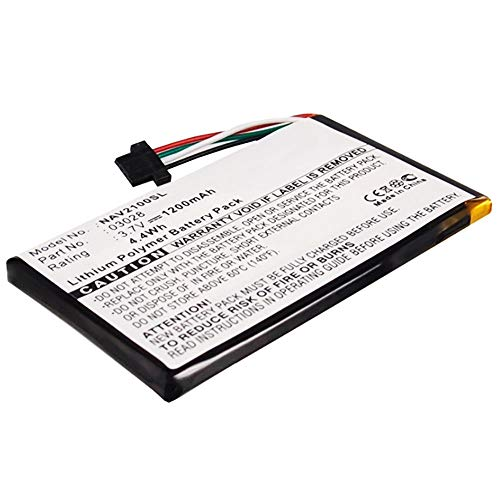 subtel® Qualitäts Akku kompatibel mit Navigon 2100 2100 max 2110 2110 max 2120 2120 max 2150 max 2310 (1200mAh) 03028 Ersatzakku Batterie