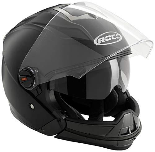 ROCC 160 Crossover Helm, Farbe matt-schwarz, Größe L(59/60)