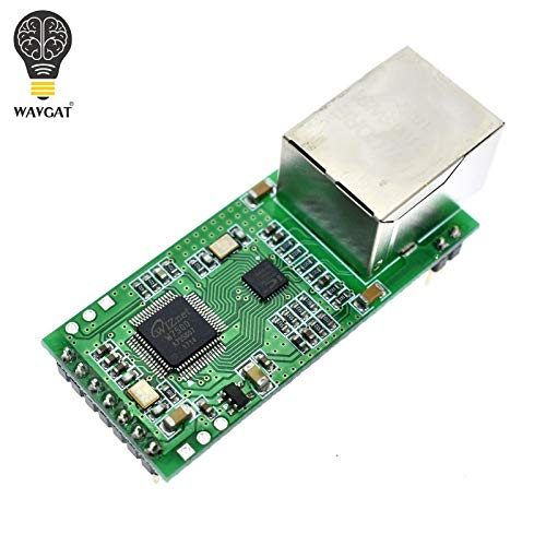 Stayhome Serial to Ethernet Converter Module S2E Serial UART TTL to Ethernet TCPIP Module DHCP and DNS Web Config Tool for USR-TCP232-T2