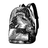 Galaxy Printed Shoulders Bag I-Watch-Too-Much-Judge-Judy-Said-No-One-Ever Fashion Casual Star Sky Backpack For Boys&Girls