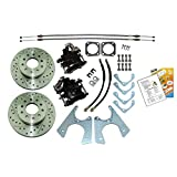 Inline Tube Compatible with 1964-77 GM 10 12 Bolt Rear Axle End Disc Brake Conversion Kit ...