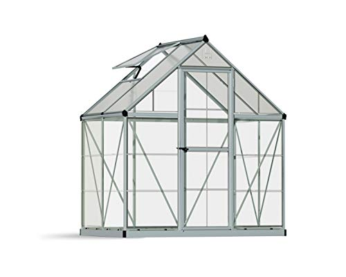 Palram Canopia Hybrid Greenhouse 6x4 Silver
