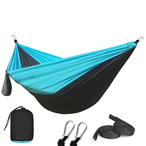 Gifftiy hangmatten voor bomen touw hangmatten buiten 1-2 personen slapen parachute hangstoel hangmat tuin schommel opknoping outdoor camping 118 * 78 C