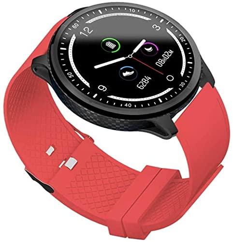 Pulsera inteligente fitness tracker IP68 impermeable deportes tracker, reloj inteligente pulsera con podómetro, adecuado para niños, mujeres, hombres-C