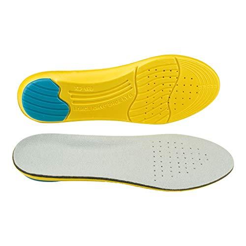 non_brand Plantillas de Soporte de de EVA Cómodas Plantillas de Calzado Deportivo Transpirable Cojín - L