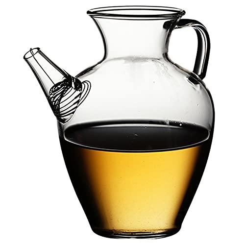 Jugo jarra de té dispensador de té hervidor fresco espesar resistente al calor kung fu té conjunto (color: B300ML)