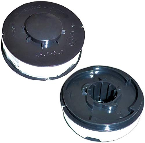 12x Rasentrimmer Spule Ersatzfadenspulen ALDI Top Craft, King Craft, Gardenline GLR GLT, Einhell RTV, Performance Power