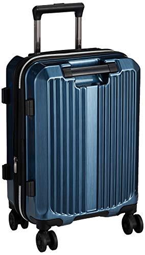 [シフレ] ハードジッパースーツケース MCL2159 ミチコロンドン 機内持ち込み可 保証付 40L 48 cm 3.2kg ヘアラインブルー