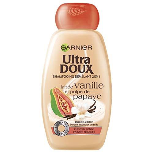 ULTRA DOUX - Shampooing Au Lait De Vanille 250Ml - Lot De 4
