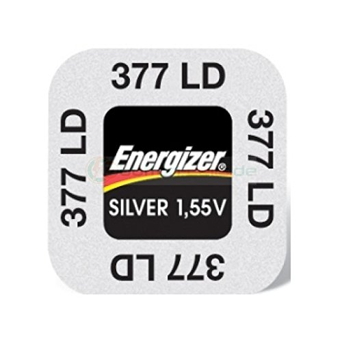 Lot de 10 Piles Energizer 377/376 SR626SW Silver Oxide
