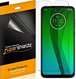 (6 Pack) Supershieldz Designed for Motorola Moto G7 Screen Protector, 0.23mm, High Definition Clear Shield (PET)